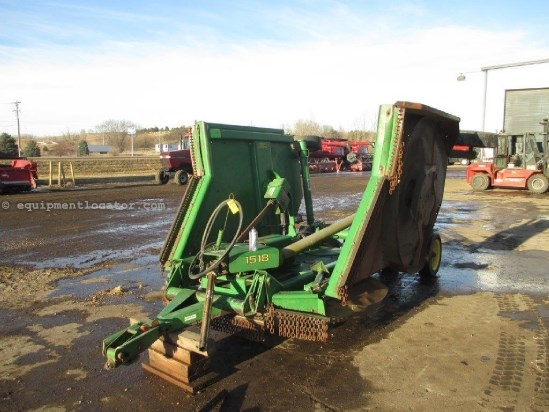 2006 John Deere 1518, 15', PT, 1000 PTO, Wing Type Rotary Cutter For Sale