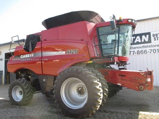 2010 Case IH AF8120, UPTIME READY!,540 Sep Hr,Pro600,Chopper Combine For Sale
