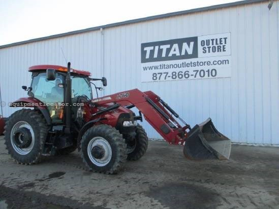 2008 Case IH PUMA 125, 911 Hrs, L760 Loader, 3 Remotes, Wts  Tractor For Sale