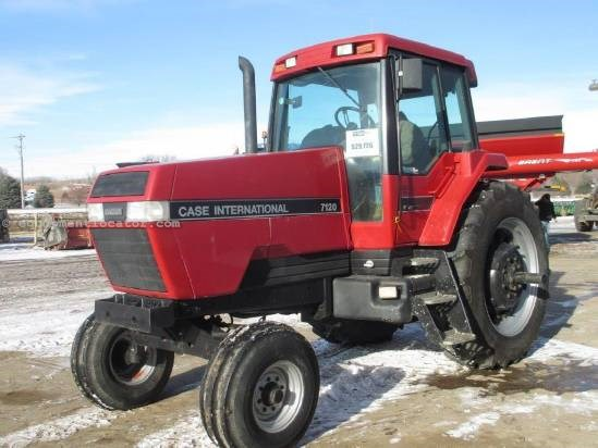 1991 Case IH 7120, 8671 Hrs, 150 HP, PS Trans, 540/1000 PTO Tractor For Sale