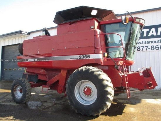 1998 Case IH 2366, 2787 Sep Hr, Rotary, HD Axle, Fore/Aft, AHH Combine For Sale