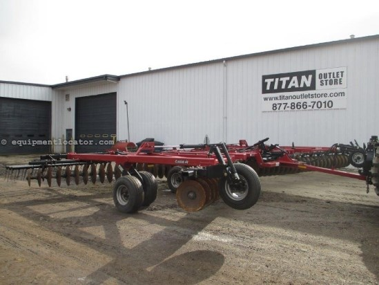 2010 Case IH RMX340, 34', Tandem, Hyd Wing Fold, Rigid Gang Disk Harrow For Sale