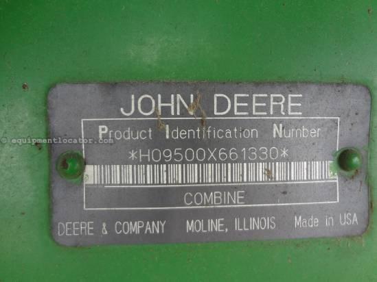 1995 John Deere 9500 Combine For Sale