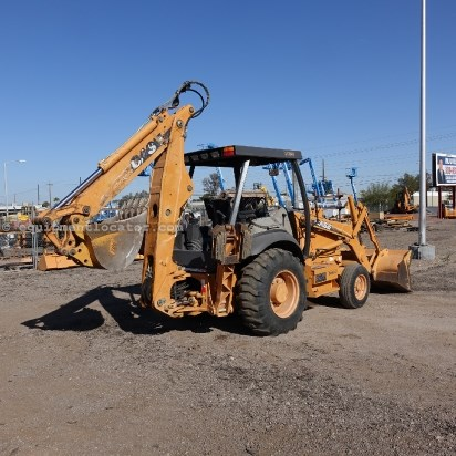 2005 Case 580SM-2, Open Rops, 2WD, E-Hoe Loader Backhoe For Sale