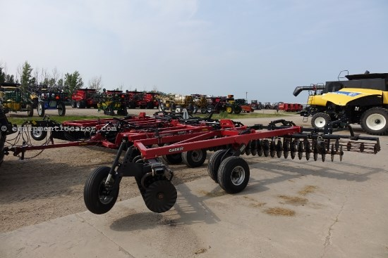 2009 Case IH RMX330 Turbo-34 ft, New Blades, Rolling Baskets Disk Harrow For Sale