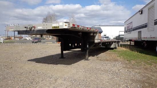 2012 Manac Manac drop deck trailer, 53'  Equipment Trailer For Sale