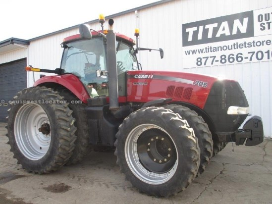 2009 Case IH MX305, 2609 Hr, PS, 4 Remotes,Auto Guide Ready  Tractor For Sale