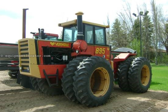 1982 Versatile 895, 8168 Hrs, 310 HP, 4 Remotes, Cab w/ Air Tractor For Sale