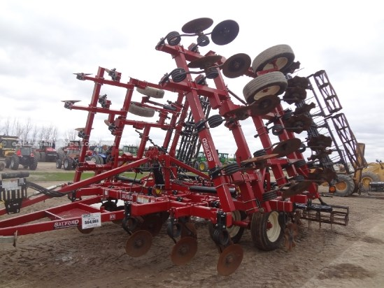 2011 Salford 570RTS Xtreme, 36 ft, Harrow, Rolling Baskets Vertical Tillage For Sale