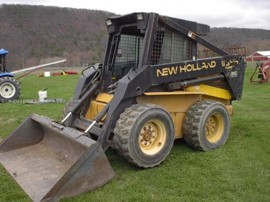 Skid Steer For Sale:  1996 New Holland LX885