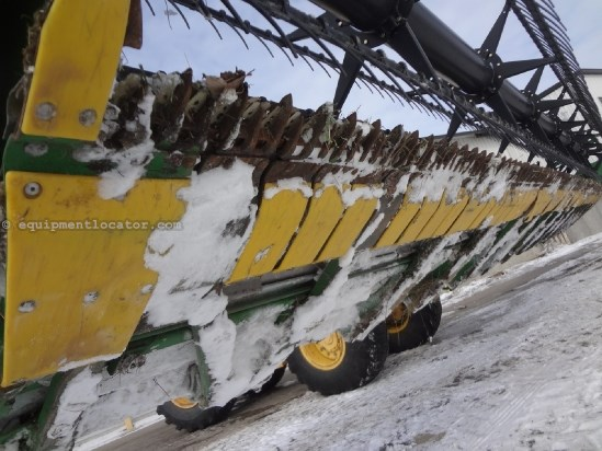 2010 John Deere 635F - 35 ft, Contour (9660,9760,9860,9670,9770) Header-Flex For Sale
