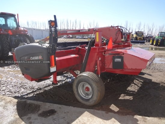 2008 Case IH SCX100 - 16 ft, Rubber Rolls, Center Pivot Mower Conditioner For Sale
