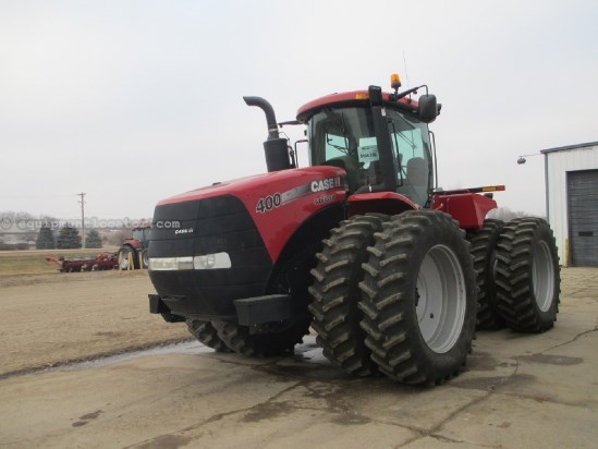 2011 Case IH Steiger STX400 - 1097 hrs, 520/85R46, PTO, 360 HID Tractor For Sale
