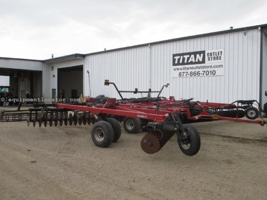 2008 Case IH RMX330,34Ft, Cushion Gang, Basket Harrow Disk Harrow For Sale