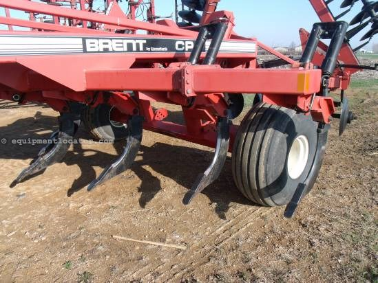 1997 Brent CPC2000, 18',  7 Shank, Hyd Disc Depth Adj Rippers For Sale