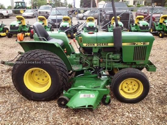 1981 John Deere 750 Tractor For Sale At Equipmentlocator Com