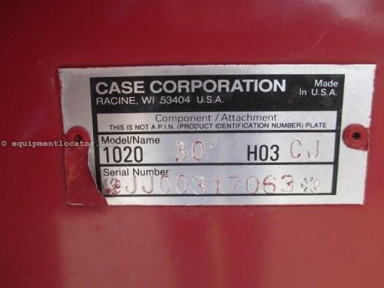 1998 Case IH 1020, 30', FT, HHC, 1688/2188/2366/2388  Header-Flex For Sale