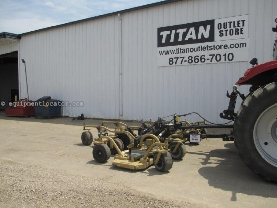 1999 Land Pride AFM4214, 14ft, 540 PTO, Wing, Pull Type, 6 Tires Rotary Cutter For Sale