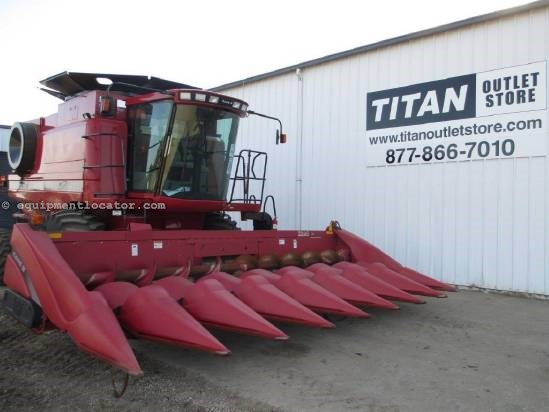 2005 Case IH 2208, 8R30,  2188/2366/2388/2588 Header-Corn For Sale