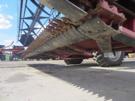 2003 Case IH 1020, 25', 1688/2166/2366/2388, HHC, Poly Skids Header-Flex For Sale