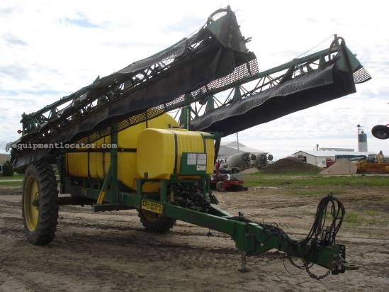 2004 Summers Ultimate NT - 110 ft, 1500 gallons, 380R46 Singles Sprayer-Pull Type For Sale