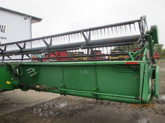 1998 John Deere 930F, 30', 9650/9660/9670, Poly  Header-Flex For Sale