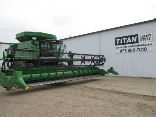 2010 John Deere 630F,30Ft, Contour, HHC,9660/9670/9760/9770/9860 Header-Flex For Sale