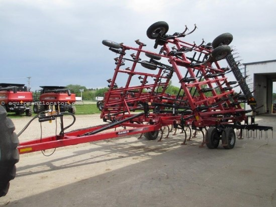2011 Case IH T200, 38Ft, Tine Harrows, Floating Hitch Field Cultivator For Sale