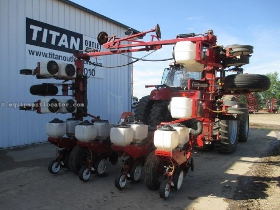 1993 White 5100, 8R36, Vac Meter, Vert Fold, Row Unit Hoppers Planter For Sale