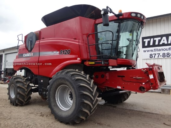 2011 Case IH AF8120, 1067 Sep Hr, UPTIME Ready, AutoSteer, RWA Combine For Sale