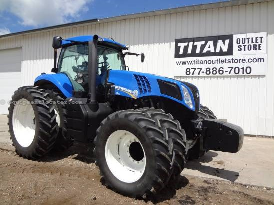 2011 New Holland T8360-275 hrs, Frt&Cab Susp, F&R Dls, 5hyd Tractor For Sale