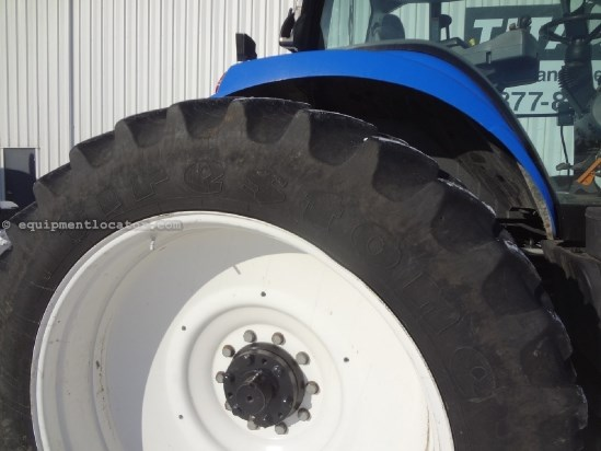 2003 New Holland TG230 - 6128 hrs, 380R46 Dls, SuperSteer Tractor For Sale