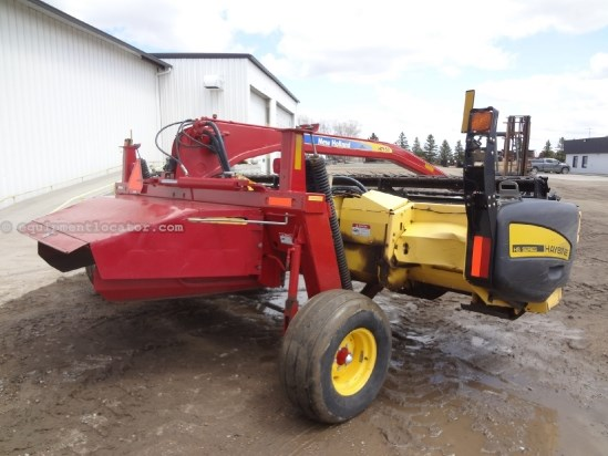 2009 New Holland H7150 - 16 ft, Steel Rollers, 1000 pto Mower Conditioner For Sale