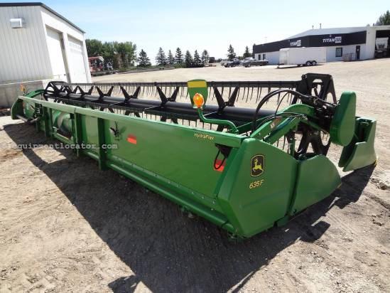 2010 John Deere 635F - 35 ft, AHHC (9760,9860,9770,9870) Header-Flex For Sale