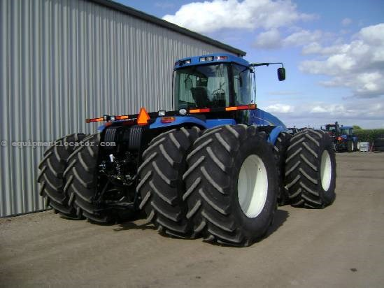 2008 New Holland T9050 - 2170 hrs, 800R38 Duals, 4 hyd, PS Tractor For Sale