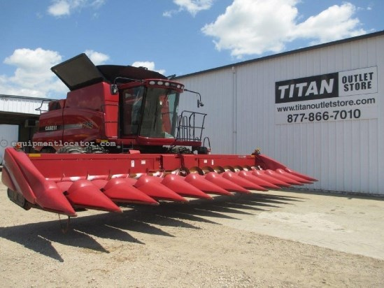 2010 Case IH 3412, 12R30, FT, HHC, Poly, 7010/7120/8010/8120 Header-Corn For Sale