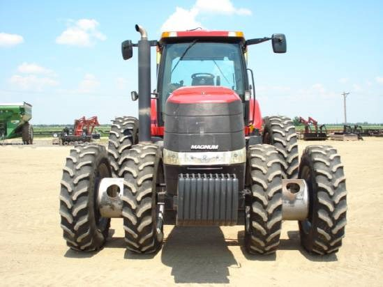 2006 Case IH MX245 - 1558 hrs, F&R Duals, Hi Flow, AS Ready Tractor For Sale