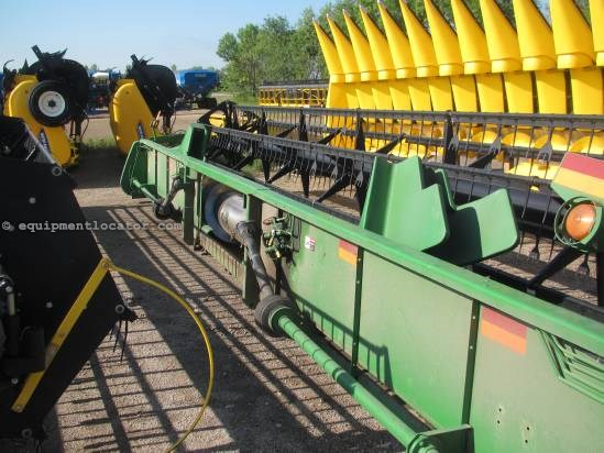 2003 John Deere 930F - 30 ft, AHHC (9610,9650,9750) Header-Flex For Sale