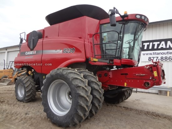 2012 Case IH AF8230 - Sep Hrs 372, Duals, Pro700, Full Guidance Combine For Sale