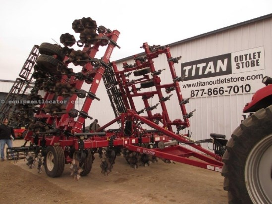2011 Salford 570, 41', Wave Blades, Rolling Basket Harrow Vertical Tillage For Sale