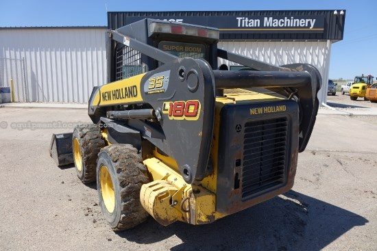 2007 New Holland L180, Open ROPS, 2 Speed Skid Steer For Sale
