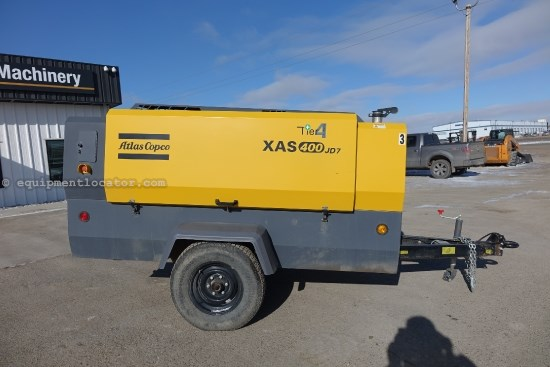 2013 Atlas Copco XAS400, JD 115 HP Tier 4 Diesel Engine Air Compressor For Sale