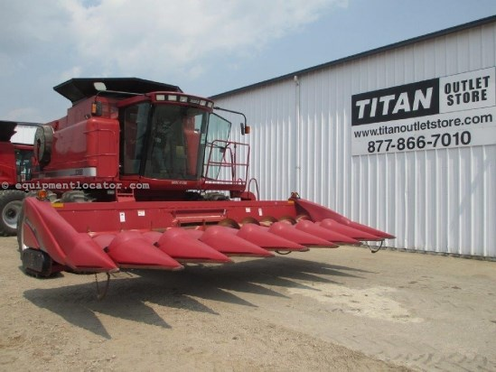 2005 Case IH 2208, 8R30, FT, HHC, Hyd Dk Plates, 2188/2388/2588 Header-Corn For Sale