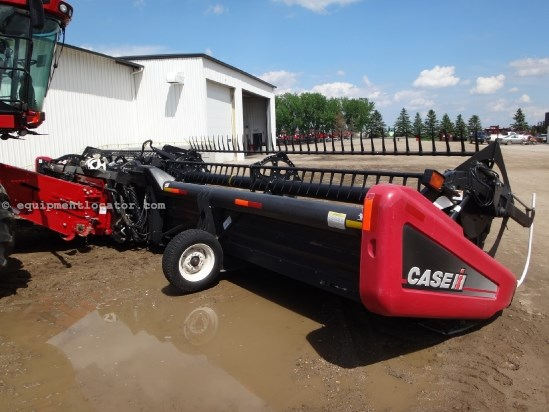 2008 Case IH 2162 - 40 ft, Gauge Whls(8010,8120,9120,8230,9230) Header-Draper For Sale