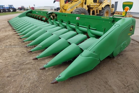 2012 John Deere 618C, 18R22, Contour, Chopping, 9660/9760/9860 Header-Corn For Sale