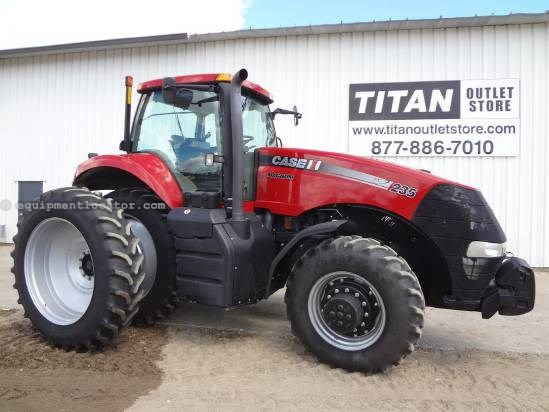 2011 Case IH Magnum MX235-1600 hrs, Dls, AS Ready, 4 hyd Tractor For Sale
