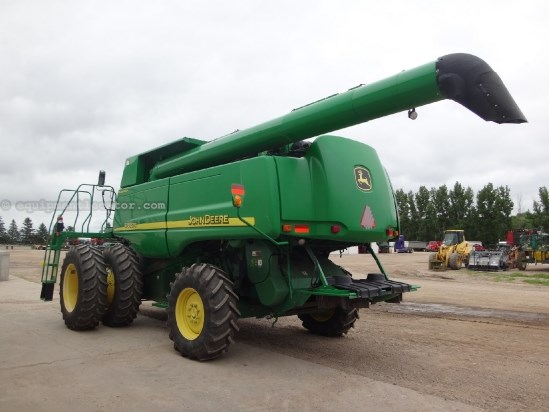 2007 John Deere 9760, 1618 Sep Hr, UPTIME Ready, RWA, RT, Contour Combine For Sale