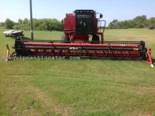 1997 Case IH 1020-30ft, AirReel (1688,2188,2388,2588) Header-Flex For Sale
