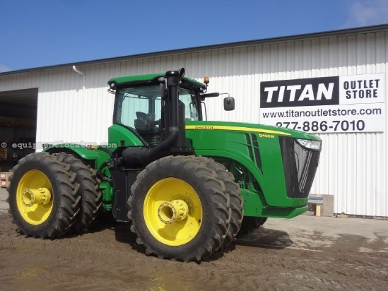 2012 John Deere 9460R - 860 hrs, 520R46 Trpls, PTO, 4 hyd Tractor For Sale