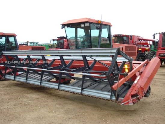 1989 Case IH 8830 - 21 ft Draper Head, CAH, Bat Reel Windrower-Self Propelled For Sale